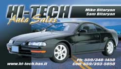 Hi-Tech Auto Sales