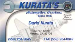 Kurata's Automotive Services