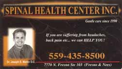 Spinal Health Center Inc.