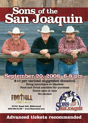 Sons of the San Joaquin Postcard